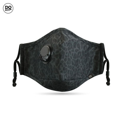 Picture of Anti-Pollution FACE MASK (Black Cheetah)