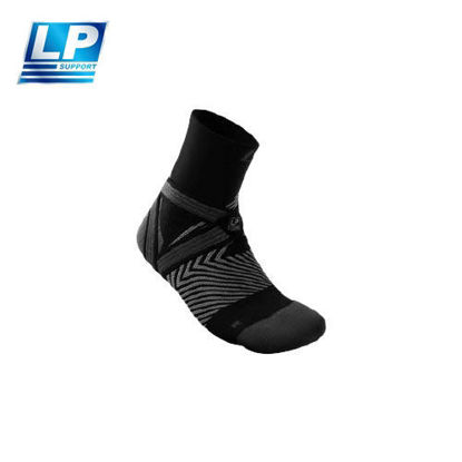 Picture of LP Support 203Z Ankle Support Compression Quarter Socks