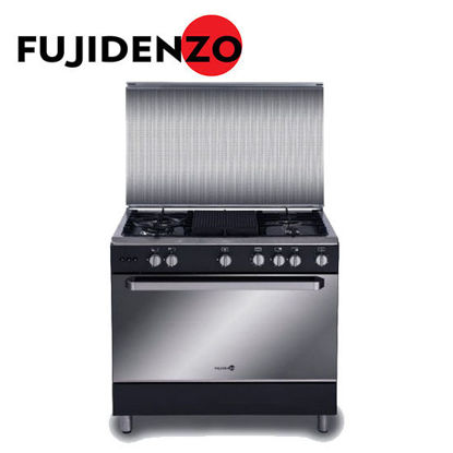 Picture of Fujidenzo 90 cm Cooking Range, 5 Gas Burners, Rotisserie(FGR9650VTRGMB)