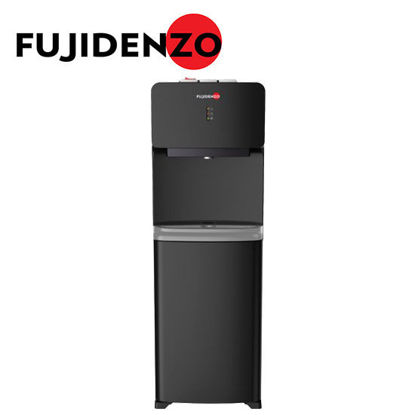 Picture of Fujidenzo FWD1031 Black, Elegantly-Designed Water Dispenser, Child Safety Lock