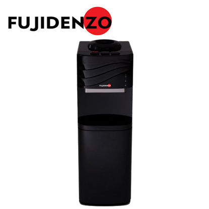 Picture of Fujidenzo FWD1631 Black, Water Dispenser, Elegant Top Button Design, Cabinet