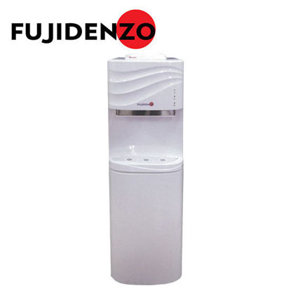 Picture of Fujidenzo FWD1631 White, Water Dispenser, Elegant Top Button Design, Cabinet