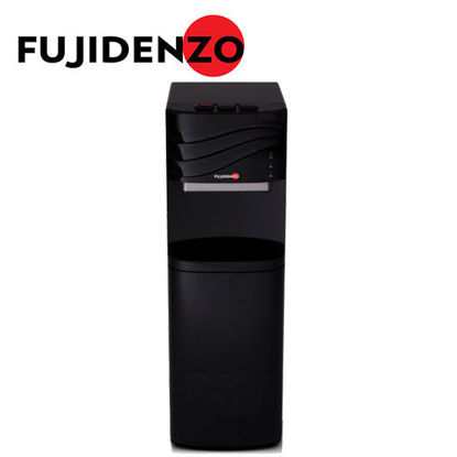 Picture of Fujidenzo FWD1634 Black, Bottom Load Water Dispenser w/ Water Pump, Child Lock, Cabinet