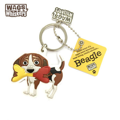 Picture of Wags & Whiskers KEYCHAIN Pet - Beagles