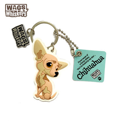 Picture of Wags & Whiskers KEYCHAIN Pet - Chihuahua