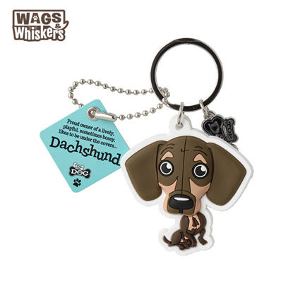 Picture of Wags & Whiskers KEYCHAIN Pet - Dachsund