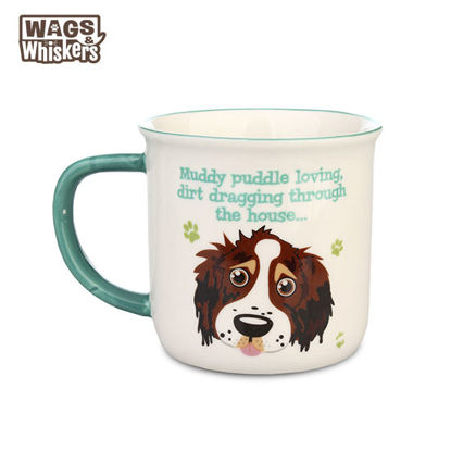 Picture of Wags & Whiskers MUG Pet - Springer Spaniel Brown