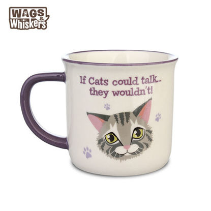 Picture of Wags & Whiskers MUG Pet - Silver Tabby Cat