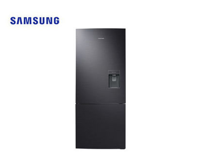 Picture of Samsung 15.0 Bottom Mount Freezer w/ Water Dispenser Black DOI Refrigerator RL40A3SBAB1/TC