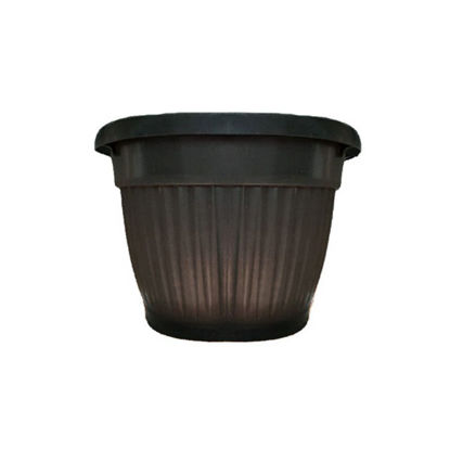 Picture of Round Top Corrugated Plastic Flower/Plant Pots
