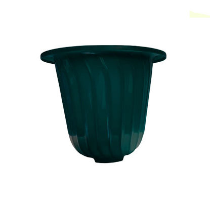Picture of Sunny Ware Bell Pot Round Plastic Flower/Plant Pots Outdoor Garden - SMALL (19 cm dia x 16 cm H)