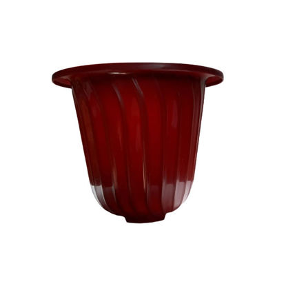 Picture of Sunny Ware Bell Pot Round Plastic Flower/Plant Pots Outdoor Garden - MEDIUM (22 cm dia x 18 cm H)