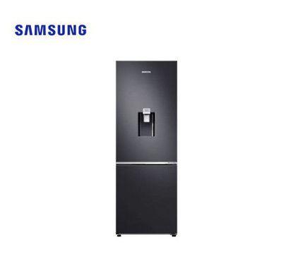 Picture of Samsung 10.9 Cu. Ft. Bottom Mount Freezer w/ Water Dispenser Black RB30N4180B1/TC