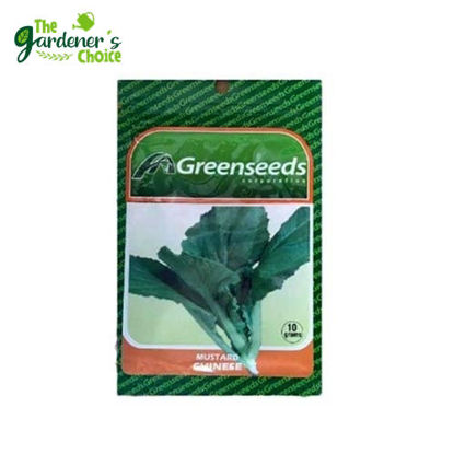 Picture of The Gardener's Choice Mustard (Chinese) Greenseeds 10grams