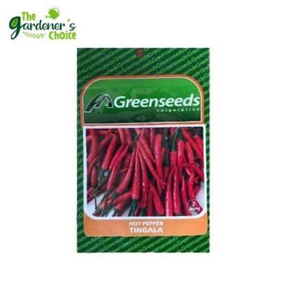 Picture of The Gardener's Choice Hot Pepper (Tingala) Greenseeds 2grams