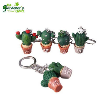 Picture of The Gardener's Choice Cactus Inspired Keychain (Assorted only) 1pc