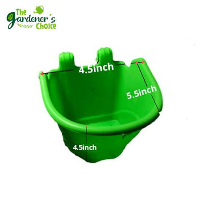 Picture of Gardening Green Vertical Hanging Pots (5pcs)