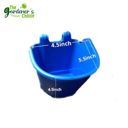 Picture of Gardening Blue Vertical Hanging Pots (5pcs)