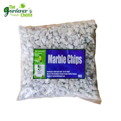 Picture of Gardening Pebbles ( Marble Chips ) 1kg