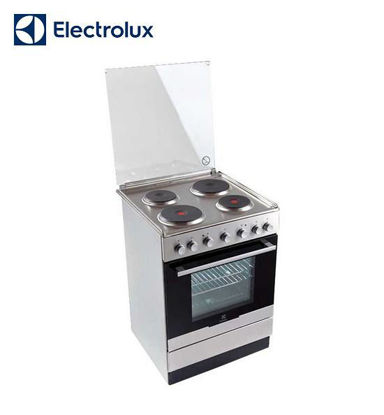 Picture of Electrolux 60 cm Free Standing Cooker, 4 Hot Plates, 54L Electric Oven EKS61300OX