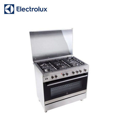 Picture of Electrolux 90 cm Free Standing Cooker, 5 Gas Burners, 130L Gas Oven