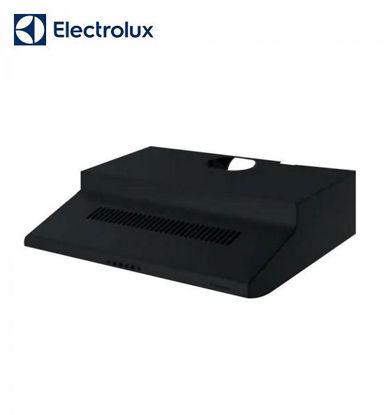 Picture of Electrolux 60 cm Slimline Hood, Dual Motor, Black EFT6510K