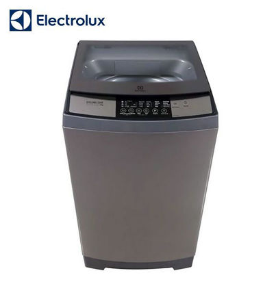 Picture of Electrolux 10 kg. Cyclonic Care Top Load Washer, Pulsator with Inverter, Silver EWT105WD