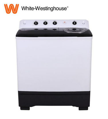 Picture of White-Westinghouse 12 kg. / 7 kg. Dura Care Twin Tub Washer, White