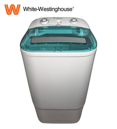 Picture of White-Westinghouse 7 kg. Single Tub Washer, White with Blue Cover