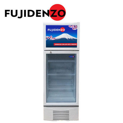 Picture of Fujidenzo SUF-100A beverage cooler with freezer top 10 cu.ft