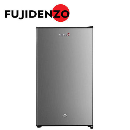 Picture of Fujidenzo RB-40HKS personal ref - 4 cu.ft. stainless steel door w/ key lock