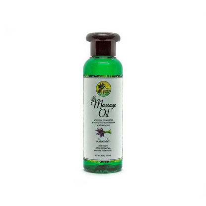 Picture of The Tropical Shop Natural Massage Oil Lavender