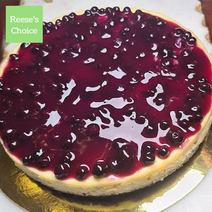 Picture of Reese's Choice Blueberry Cheesecake