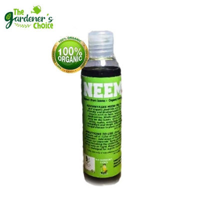 Picture of The Gardener's Choice Organic Pesticide and Fungicide Neem Oil 100ml