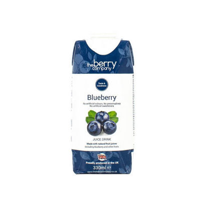 Picture of The Berry Company Blueberry 330ml x 12