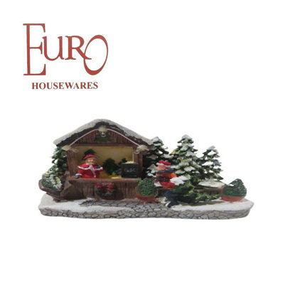 Picture of Euro Y3230 Mini Resin Light Up House B