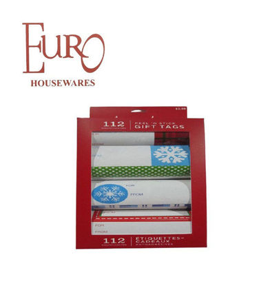 Picture of Euro Xpk0955 Xmas Gift Tags Peel N Stick