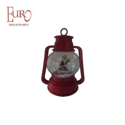 "Picture of Red Oil Lamp (Jz68429A 9"" )"