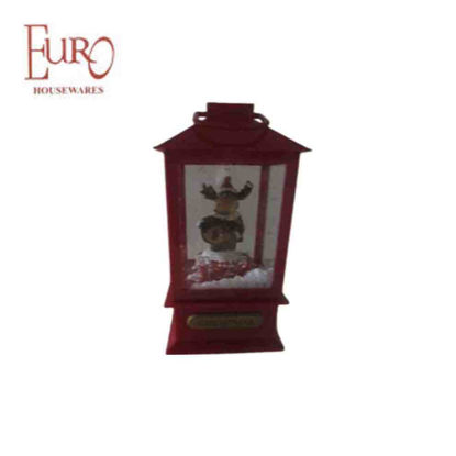 Picture of Red Xmas Lamp (Jz68426)