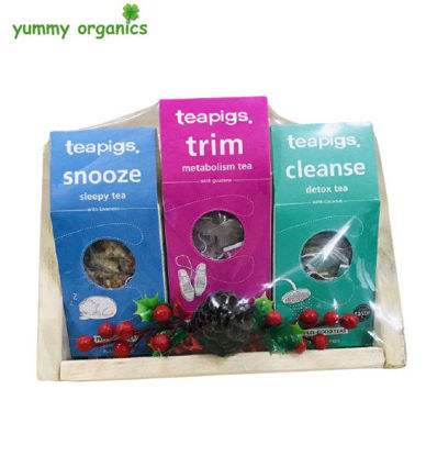 Picture of GIFT BOX # 6 teapigs Feel Good Organic Tea Box