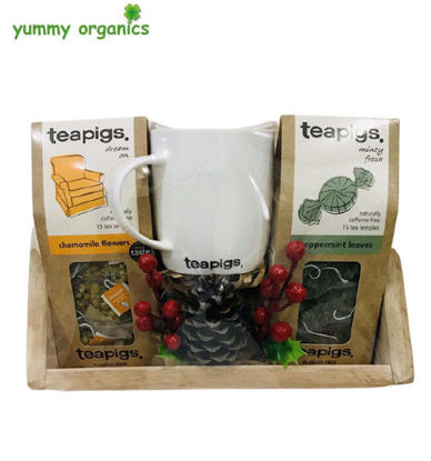 Picture of GIFT BOX # 7 teapigs Tea & Mug Box