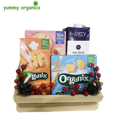 Picture of GIFT BOX # 13 Organic Baby food and berry juice box