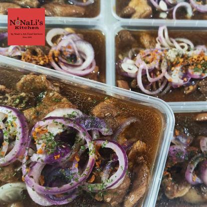 Picture of Nonali's Kitchen Pork Bistek Tagalog