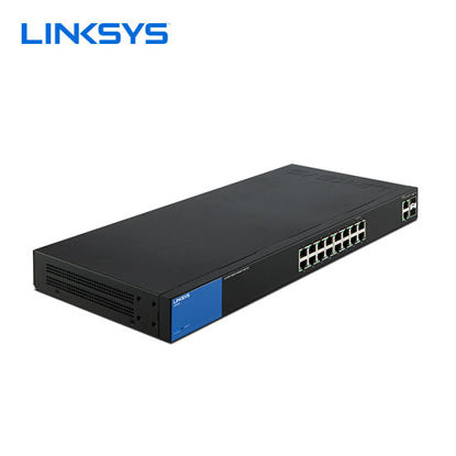 Picture of Linksys Business LGS318 16-Port Gigabit Smart Managed Switch + 2x Gigabit SFP/RJ45 Combo Ports