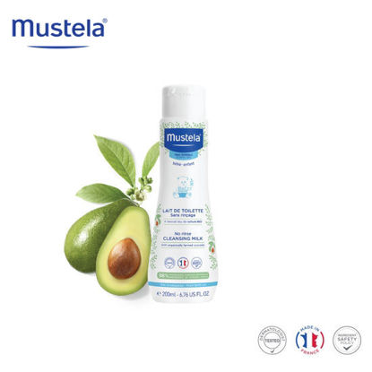 Picture of Mustela No Rinse Cleansing Milk 200ml