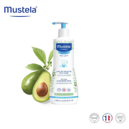 Picture of Mustela No Rinse Cleansing Milk 500ml