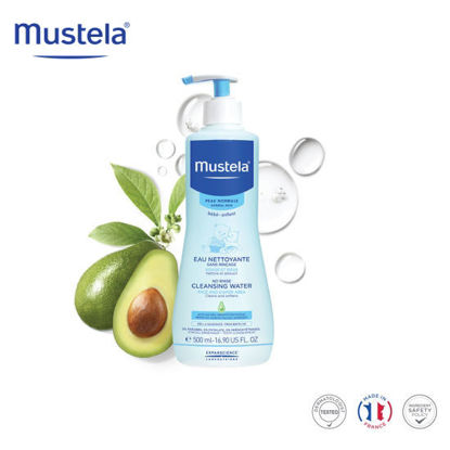 Picture of Mustela No Rinse Cleansing Water 500ml