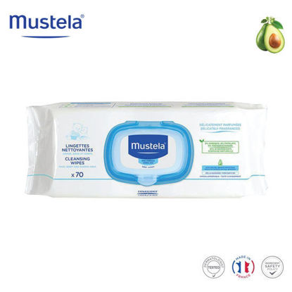 Picture of Mustela Cleansing Wipes x70