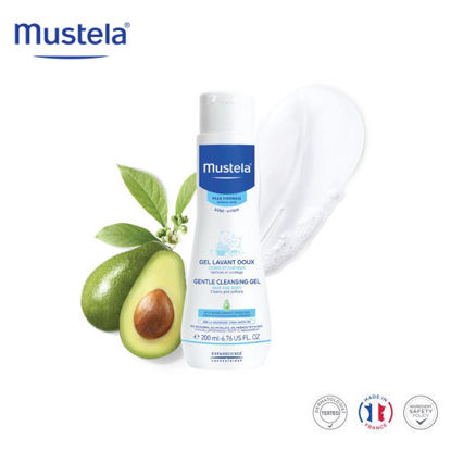 Picture of Mustela Gentle Cleansing Gel 200ml