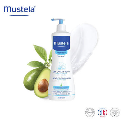 Picture of Mustela Gentle Cleansing Gel 750ml